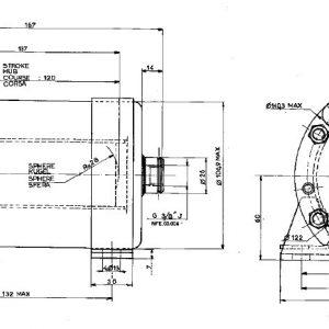 Single Brake Cylinder