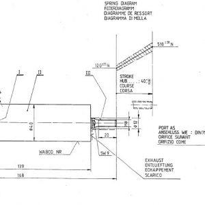 Piston Operating Cylinder