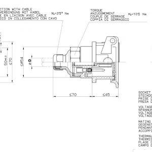 Abs-Socket 12V