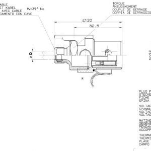 Abs-Plug 12V