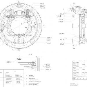 Drum Brake 360X170 Z-E