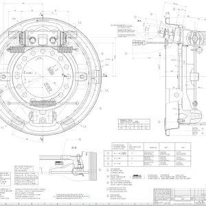 Drum Brake 410X200 Z-E