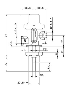3/2 Directional Control Valve